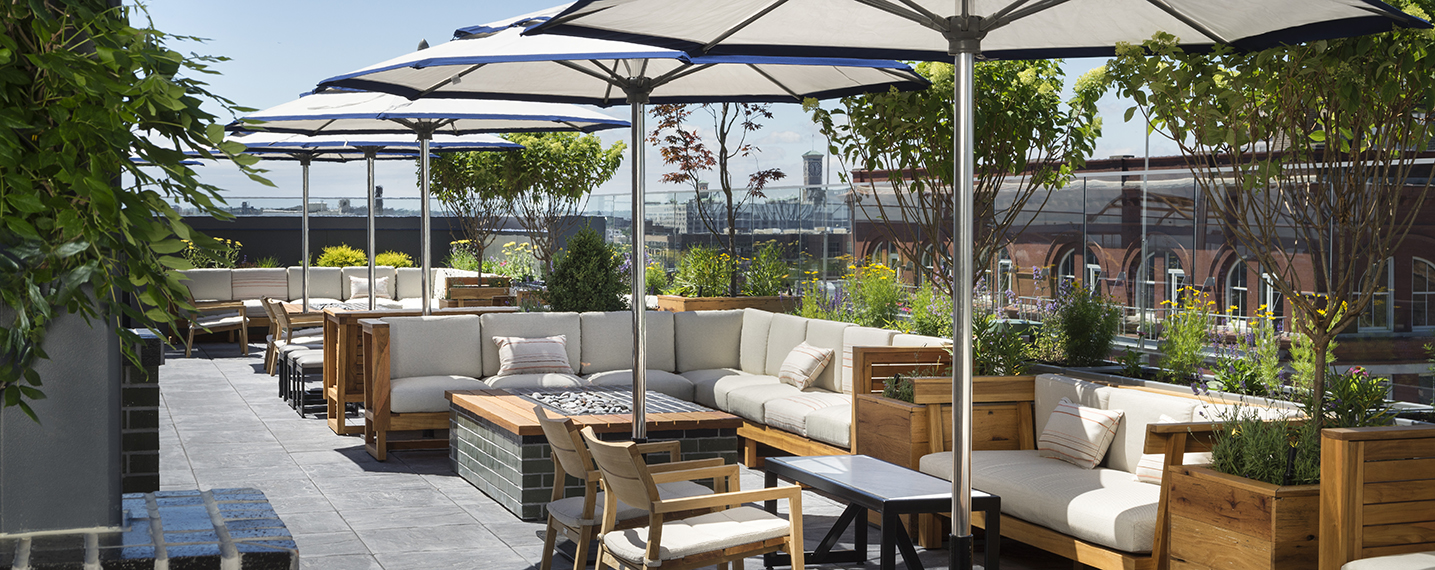 Rooftop Bar, Outside umbrella, Outdoor seating